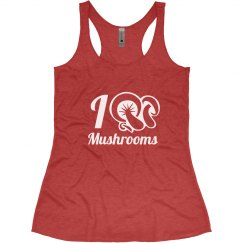 I Love Mushrooms Tank Top