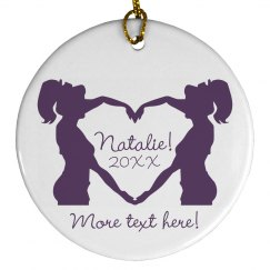 Cheerleader Ornament Gift