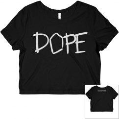 DOPE Movement Crop Top
