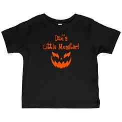 Halloween Toddler Shirt - Dad's Monster