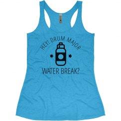 Color Guard Water Break