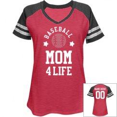 Custom Rhinestone Baseball Mom