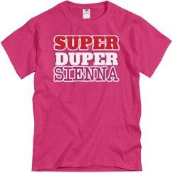 Super Duper Sienna