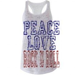 Peace Love Rock N Roll