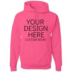 Custom Neon Hoodies