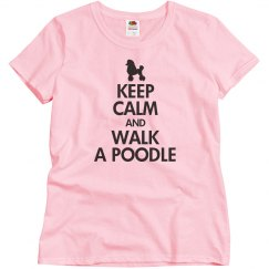 Walk a poodle