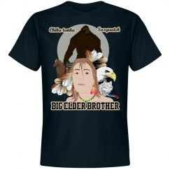 Big Elder Brother Bigfoot Tee