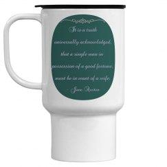 It is a truth travel mug