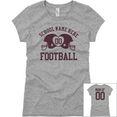 Budget Priced Football Mom Shirts