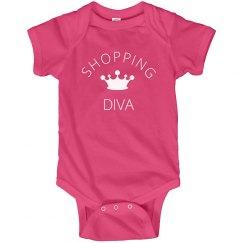 Shopping Diva Onesie
