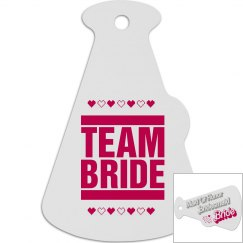 Team Bride Tag