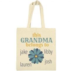 Grandma belongs to grandkids