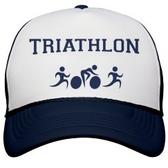 Triathlon Peak Cap