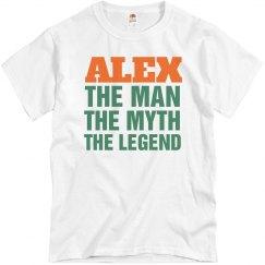 Alex the man