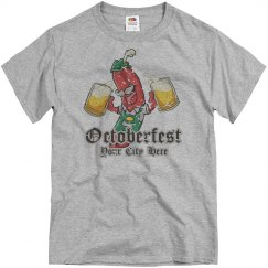 Custom City Oktoberfest Bratwurst