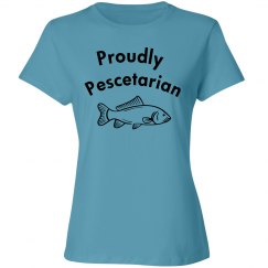 Proudly Pescetarian