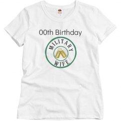 Military wife birthday