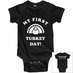 First Thanksgiving Turkey