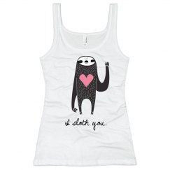 I Sloth You Heart