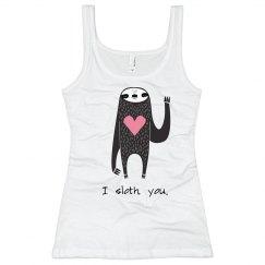 I Sloth You Heart