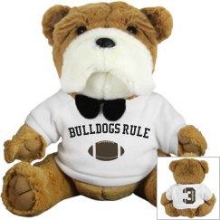 Bulldogs Rule Plush