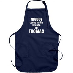 Thomas is the cook!