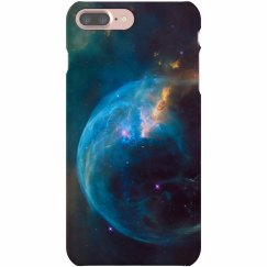 Bubble Nebula Photo iPhone Case