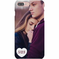 Custom Couple In Love Photo Case