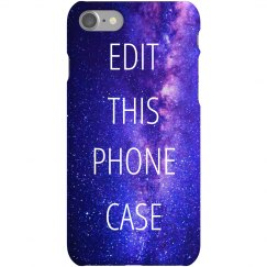 Custom Trendy Space Phone Case