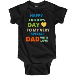 Happy Father's Day Onesies