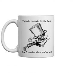 A Mad Hatter's Tea Mug