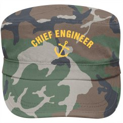 Chief engineer cap
