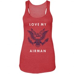 Airman Love Insignia Tank
