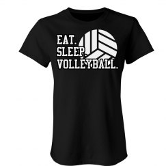 Eat. Sleep. Volleyball. Forever.