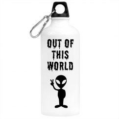 Alien Water Bottle