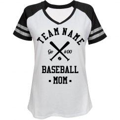 Custom Baseball Mom Fan