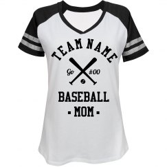 Custom Baseball Mom Fan