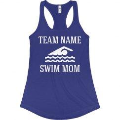 Custom Swim Team Mom