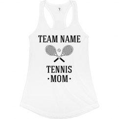 Custom Tennis Team Mom