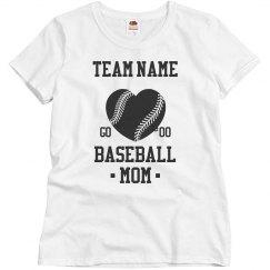 Custom Neon Baseball Mom