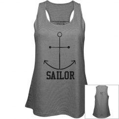 Sailor Racerback Tank Top