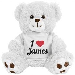 I love James