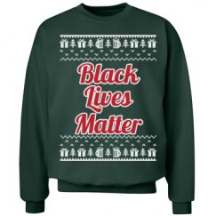 Gifts & Trees Black Lives Matter - Red/Green