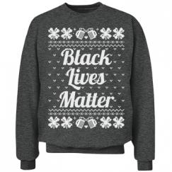 Booze & Bows Black Lives Matter - White Detail