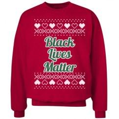 Hearts & Hugs Black Lives Matter - Green/White
