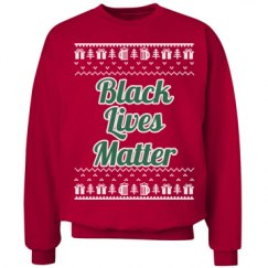 Gifts & Trees Black Lives Matter - Green/White