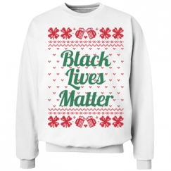 Booze & Bows Black Lives Matter - Green on Red