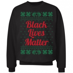 Booze & Bows Black Lives Matter - Red on Green