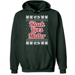 Booze & Bows Black Lives Matter Hoodie - Red/White