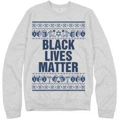 Dreidel & Booze Hanukkah Black Lives Matter - Blue